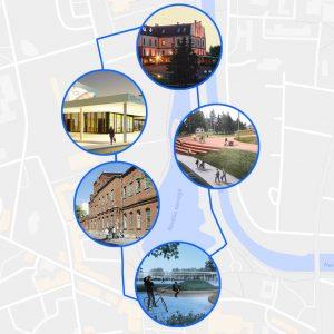 Panevėžio projektų turas pėsčiomis