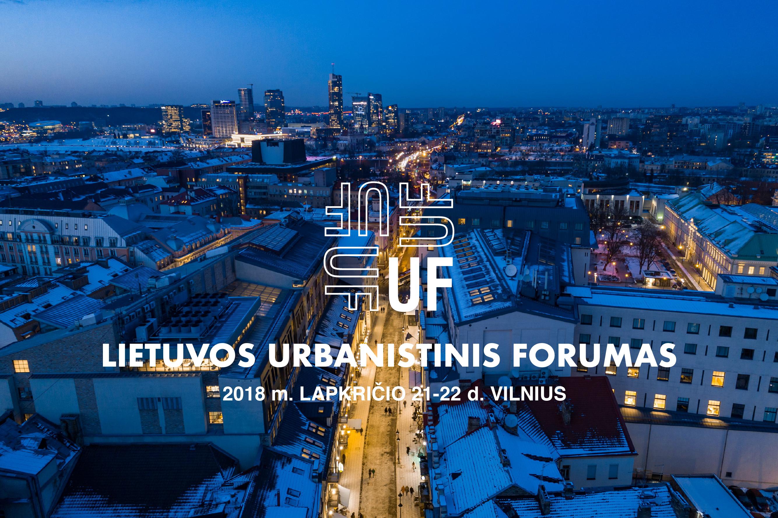 Urbanistinis forumas 2018